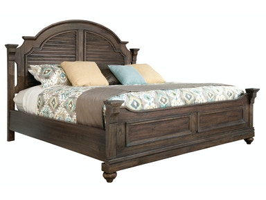 Hekman Homestead Louvered Queen Bed 1-2265ML