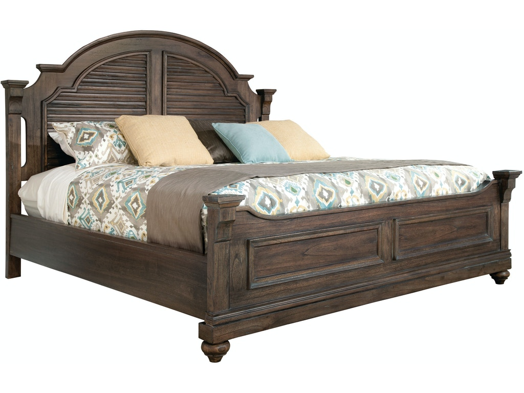 Hekman Bedroom Louvered Queen Bed 12265ml Howell Furniture Beaumont And Nederland Tx And