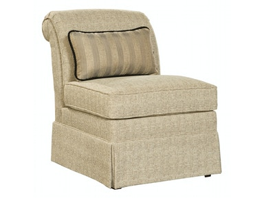 Hekman Stephanie Armless Chair 1401