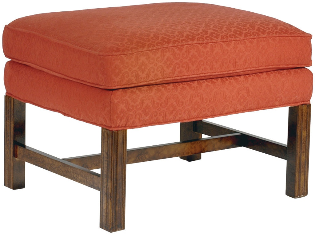 Hekman living room ottoman 1825 hampton house furniture for Furniture 1825