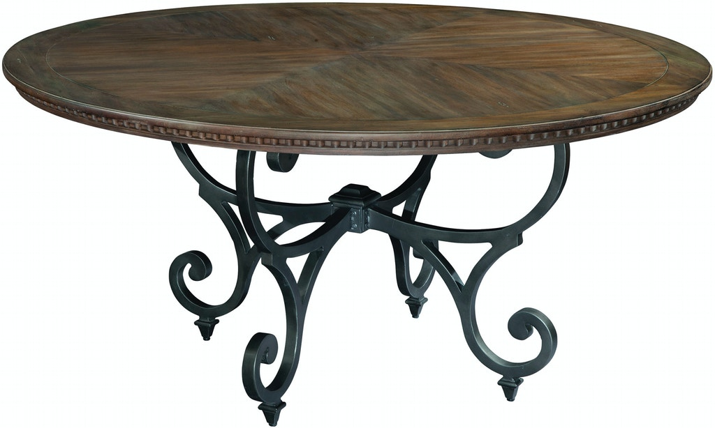 dining room furniture san antonio | Hekman Dining Room Round Dining Table 19221 - Stowers ...