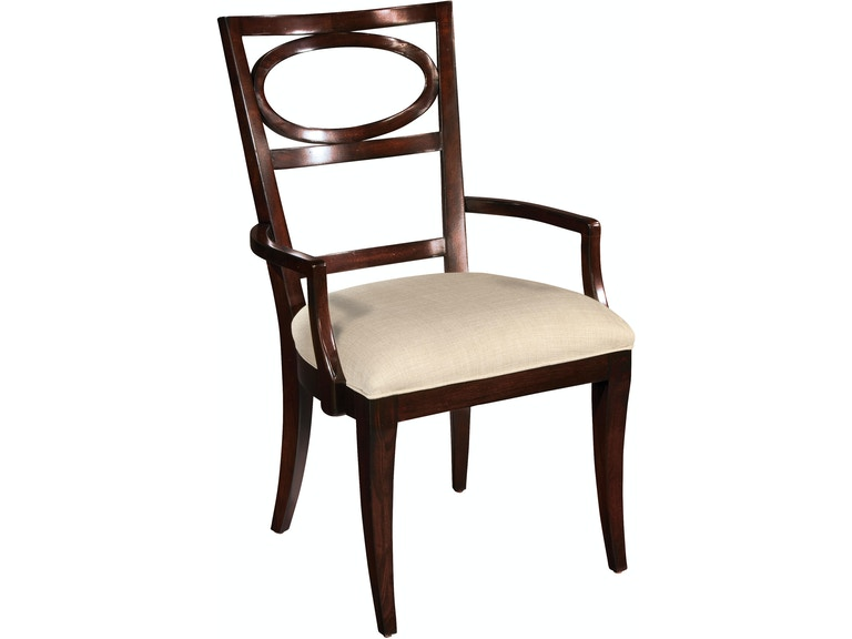 Hekman Dining Room Arm Chair Oval Back 23124 - Thomasville ...
