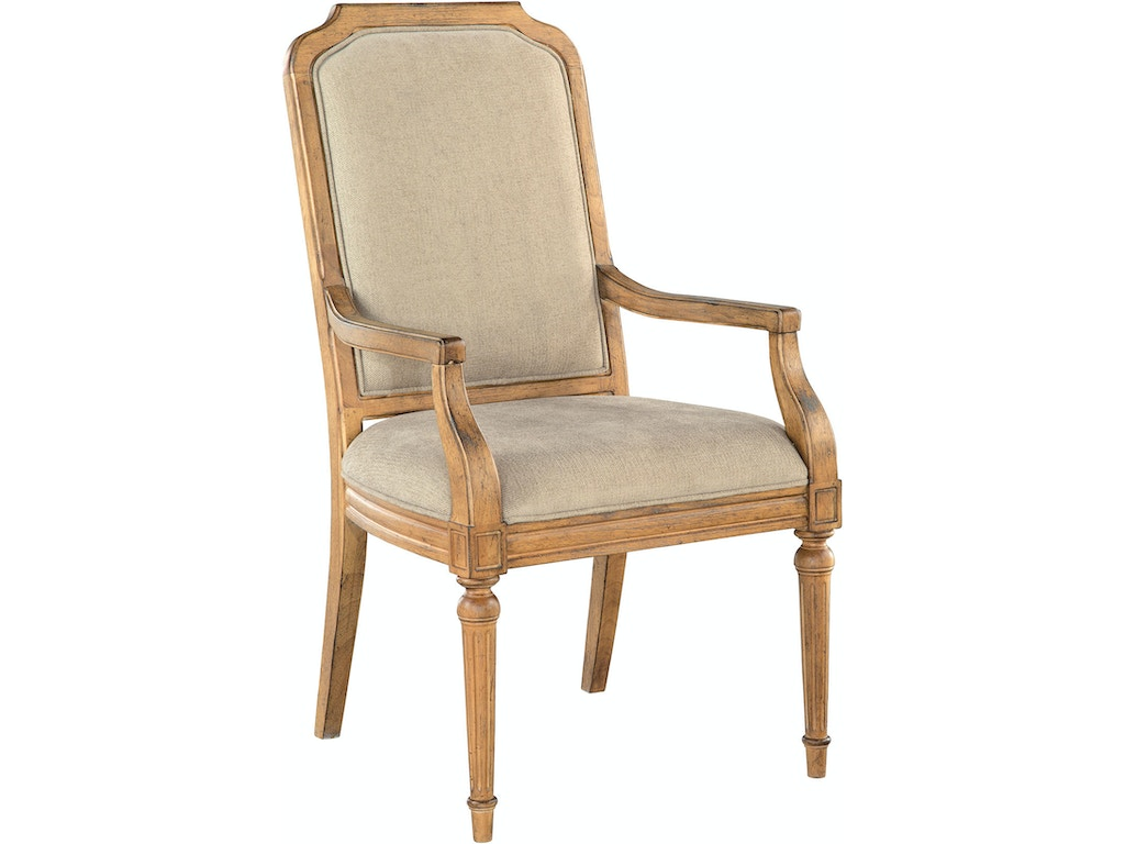 Hekman Dining Room Arm Chair Upholstered HE23324 Walter E. Smithe Furniture  + Design