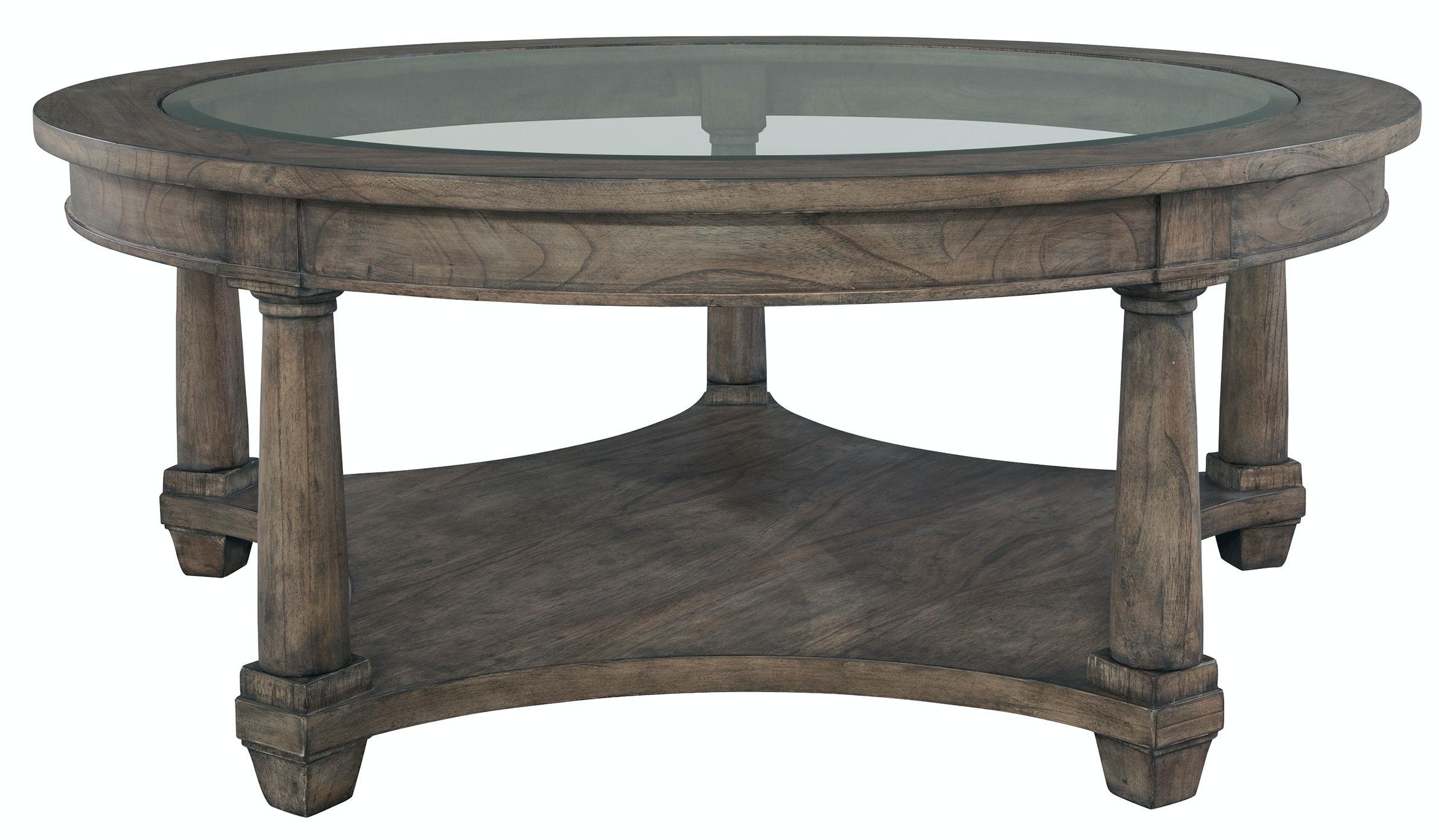 Hekman Round Coffee Table 23502