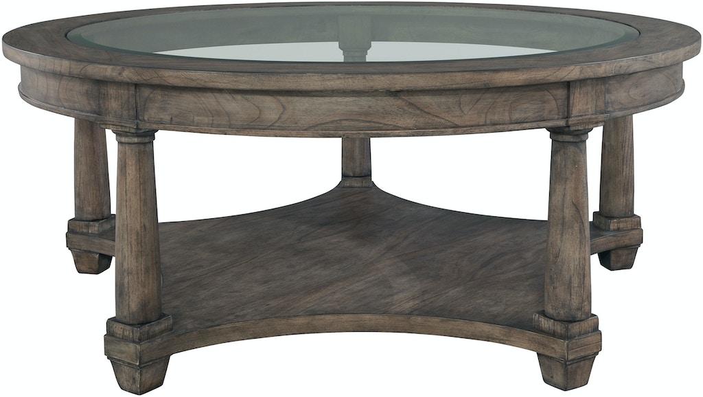 Fabulous Hekman Living Room Round Coffee Table 23502 Hickory Cjindustries Chair Design For Home Cjindustriesco