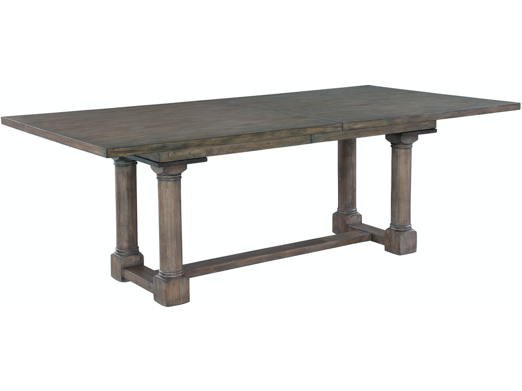 Trestle dining table 23520 for Walter e smithe dining room furniture