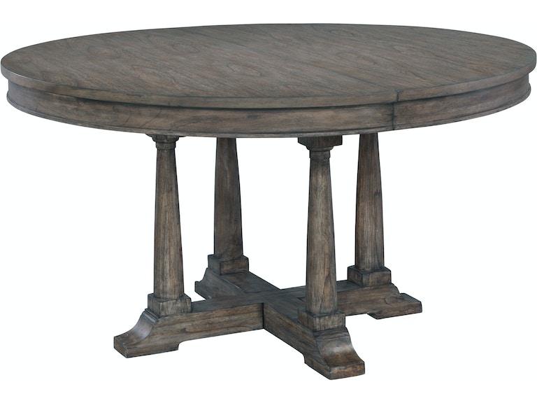 Hekman Dining Room Round Table 23521 At Woodchucks Fine Furniture Decor