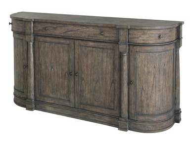 Hekman Lincoln Park Curved End Buffet 2-3527