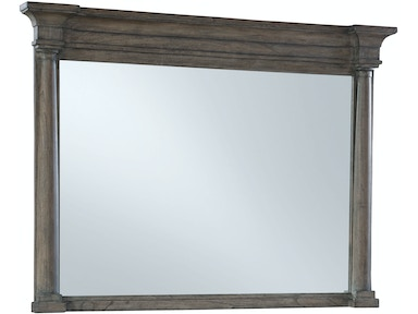 Hekman Post Mirror 23569