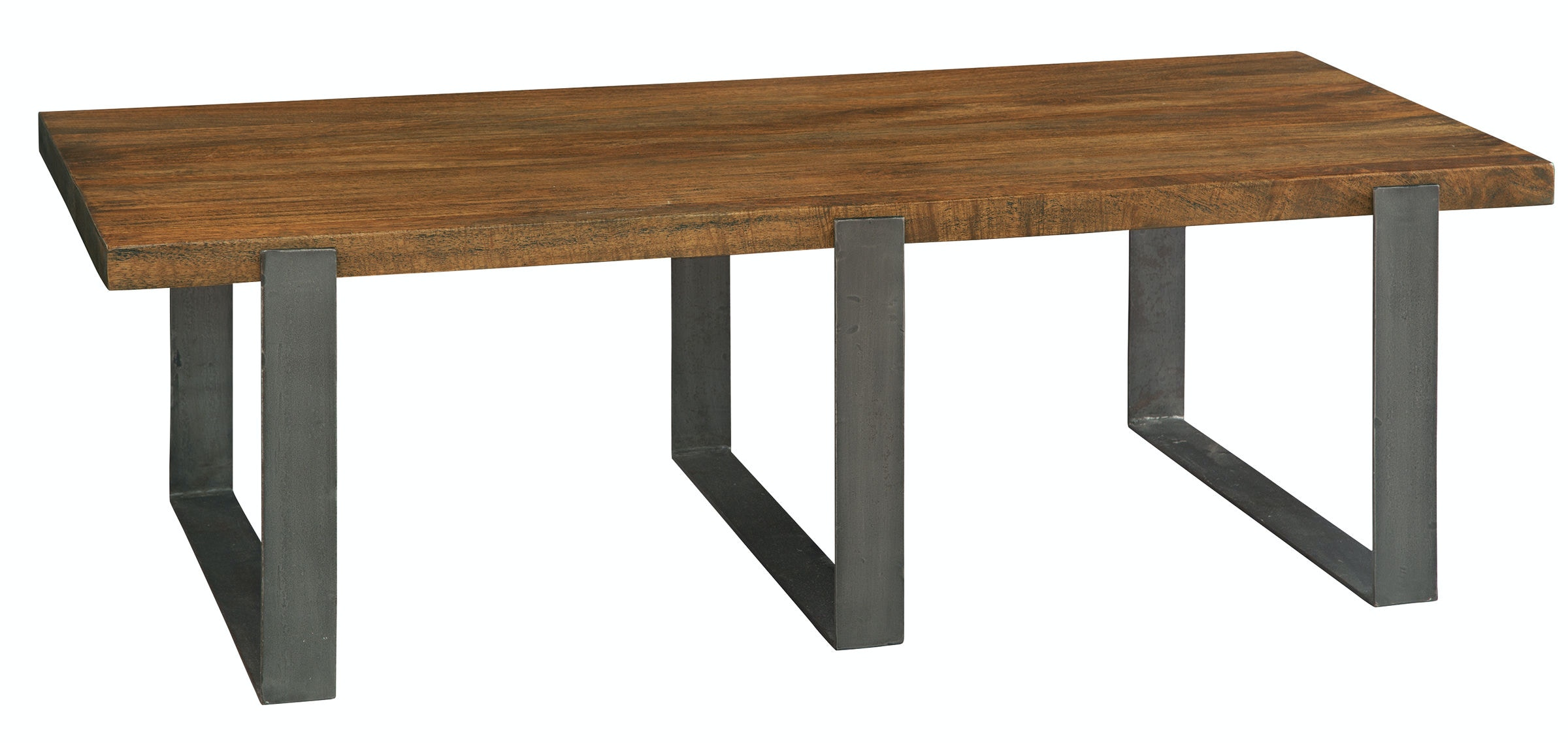 Iron Strapg Rect Cffe Table