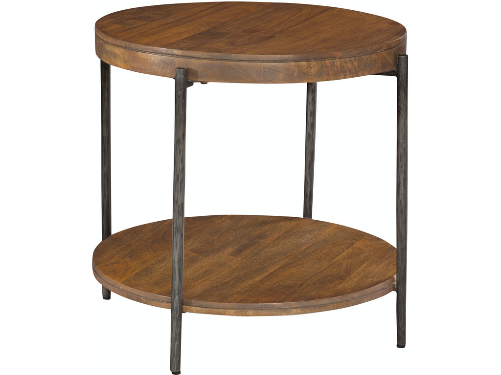 Hekman Living Room Round Side Table 23704 Hampton House Furniture Washington Mi