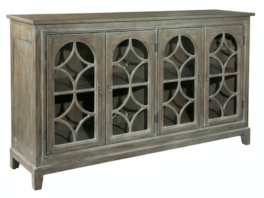 Hekman Entertainment Console With Arched Doors 2-7457