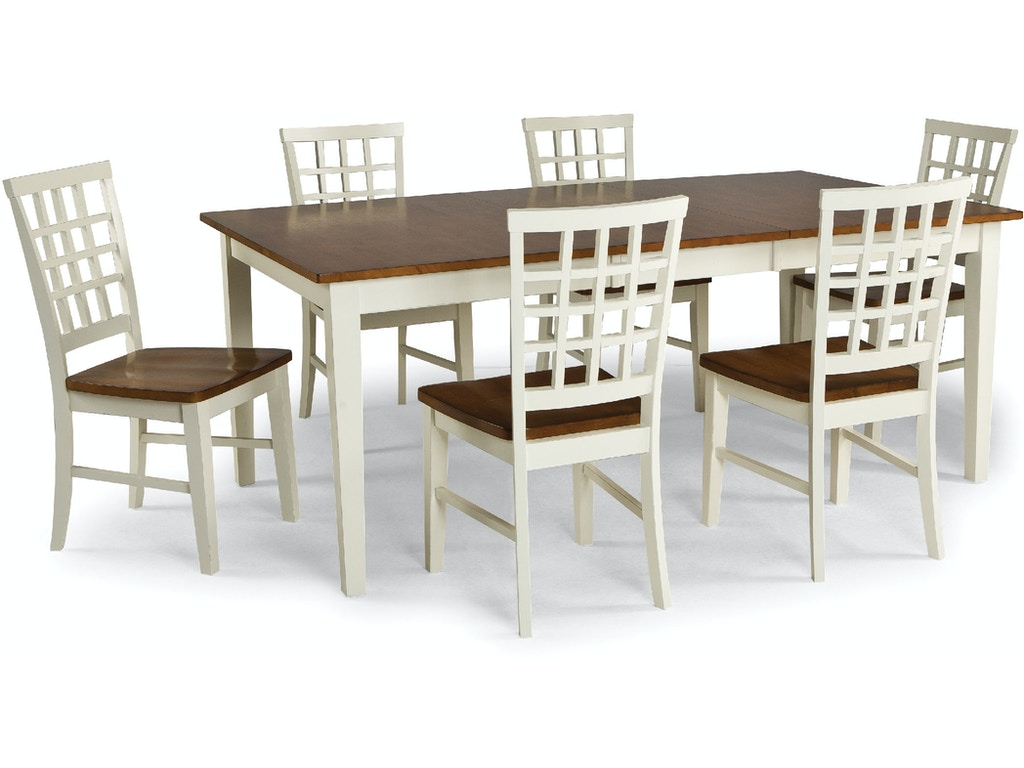 intercon dining room arlington dining table ar ta 4278 whj