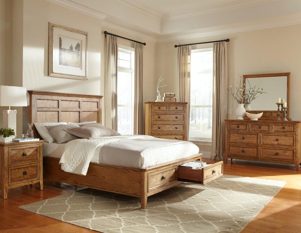 Intercon Bedroom Alta Six Drawer Chest Al Br 5306 Bas C