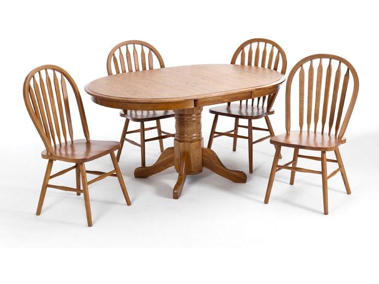 Intercon Dining Room Classic Oak Chestnut Laminate