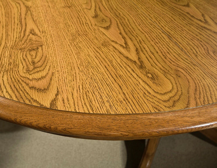 Intercon Classic Oak Chestnut Pedestal Table CO TA I4260 CNT C