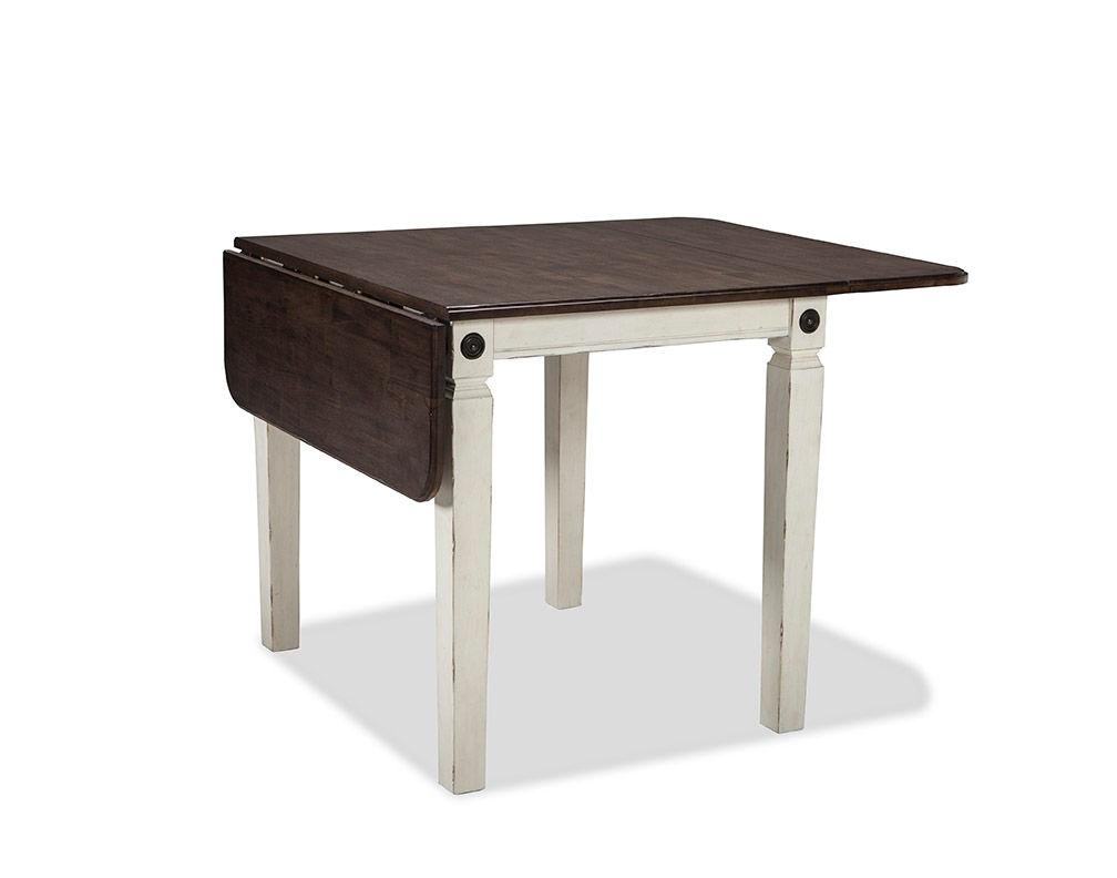 Intercon Glennwood Drop Leaf Dining Table GW TA 3650D RWC C