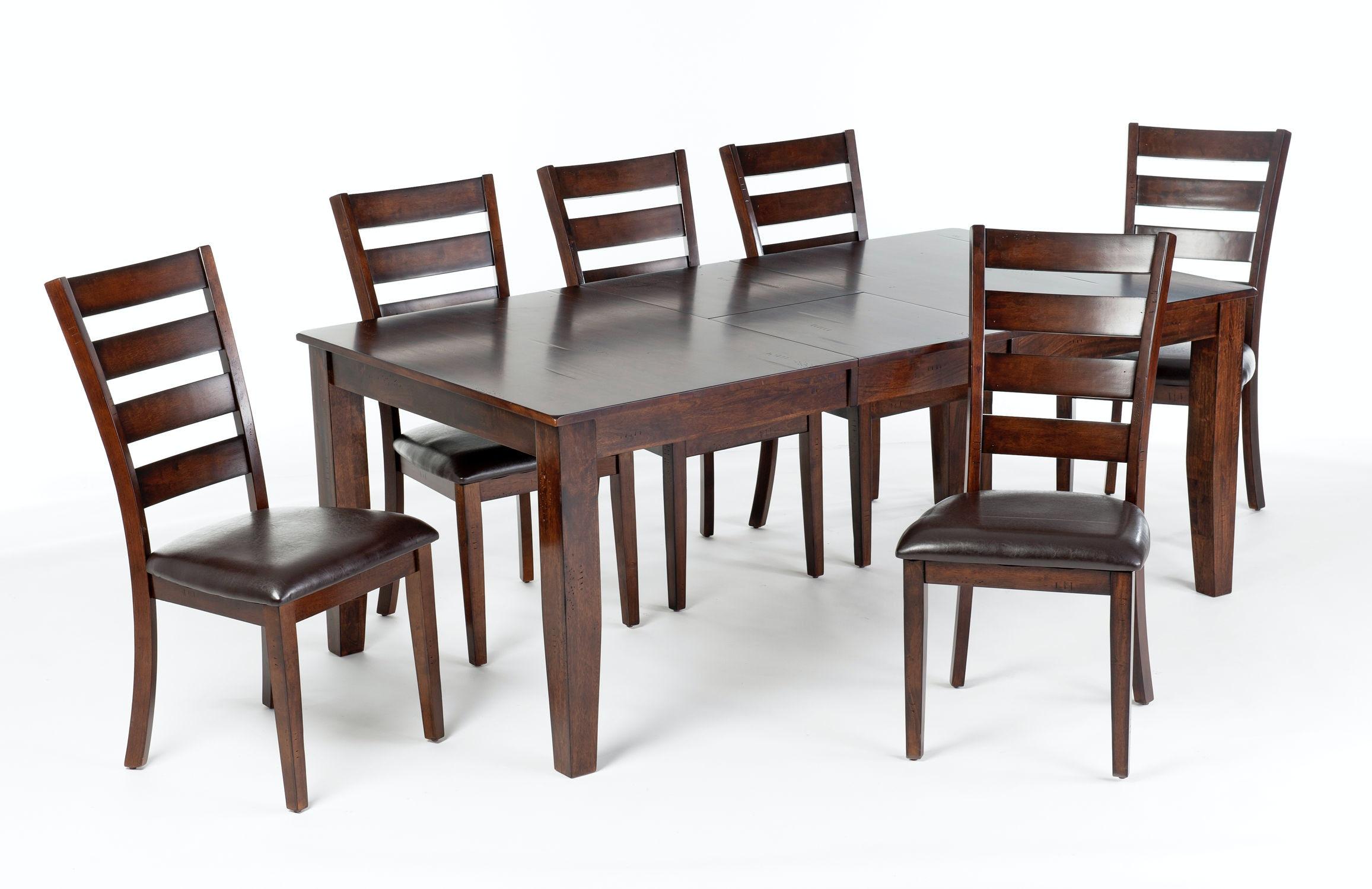Intercon Kona Butterfly Leaf Dining Table KA TA 4278B RAI C