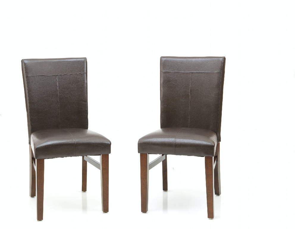 20e30fd8ac Intercon Dining Room Kona Parsons Side Chair KA-CH-280L-RAI-RTA ...
