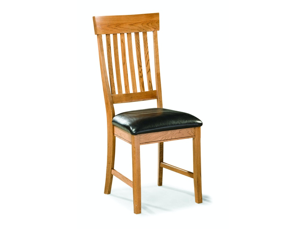Intercon Dining Room Family Dining Slat Back Side Chair Fd Ch 180c Cnt Rta Simply Discount