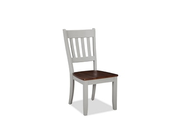 Small Space Dining Slat Back Side Chair