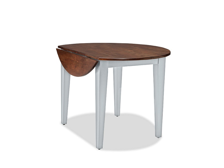 intercon dining room small space living round drop leaf dining table