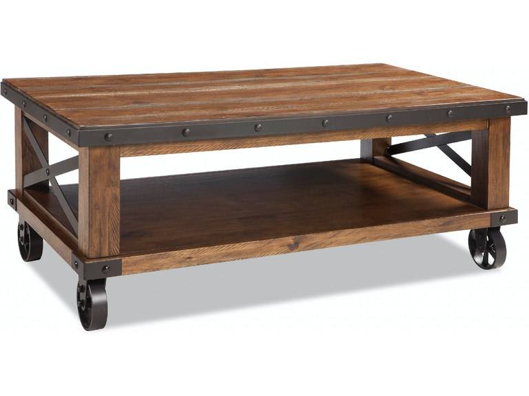 Intercon Taos Coffee Table With Caster Ts Ta 5028c Cyb C In