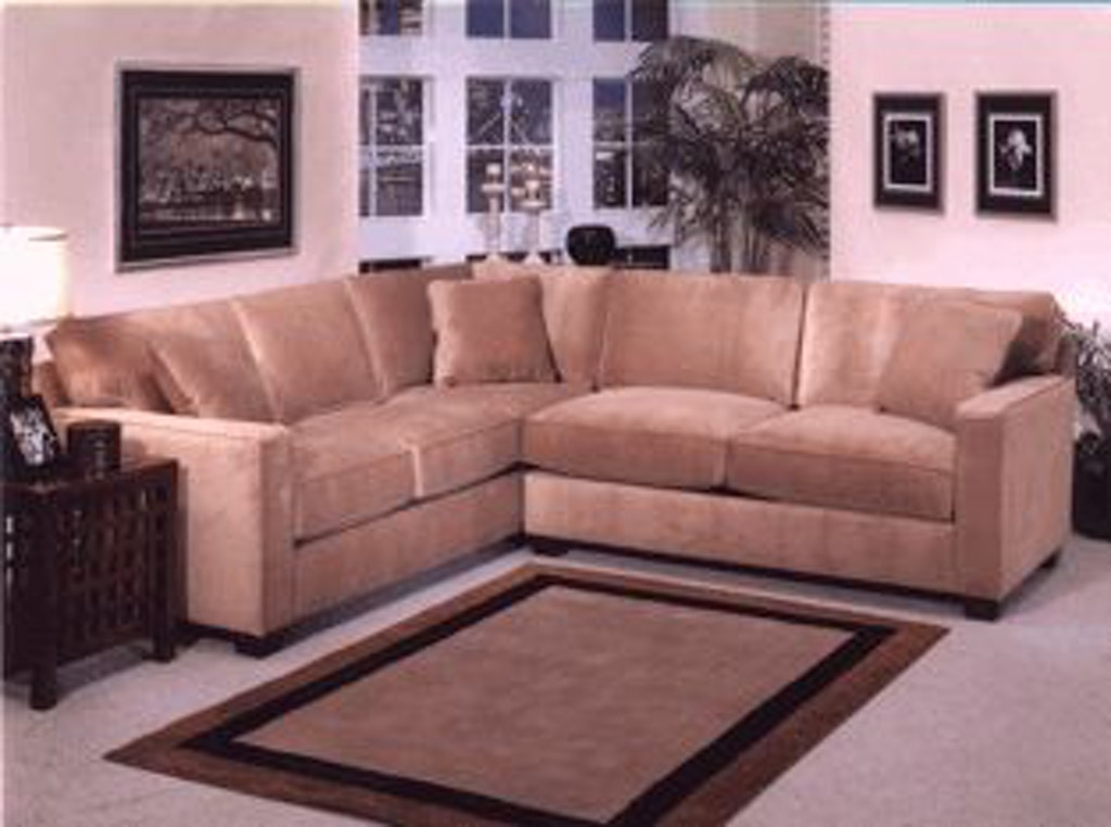 Jonathan Louis International Living Room Bradford Sectional 176 ...