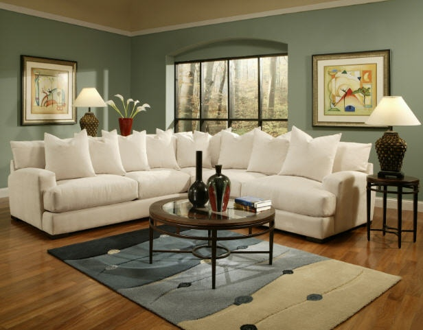 High Quality Jonathan Louis International Living Room Carlin Sectional 346 Sectional    Charter Furniture   Dallas, Fort Worth TX