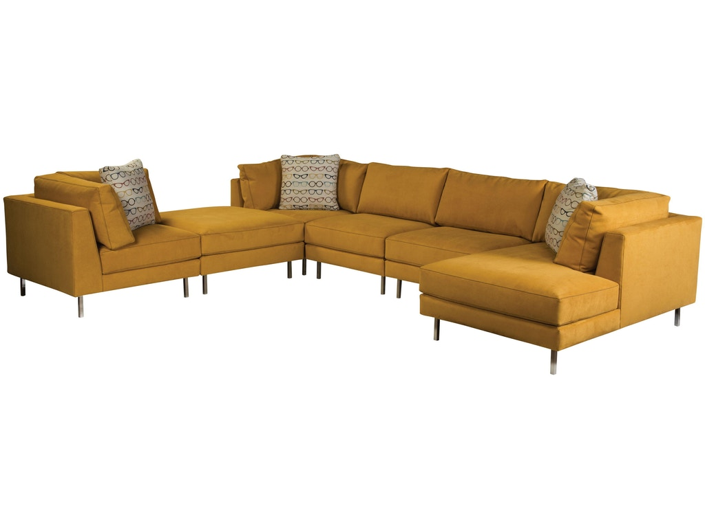Jonathan Louis International Living Room Remy Sectional 361 Sectional Treeforms Furniture
