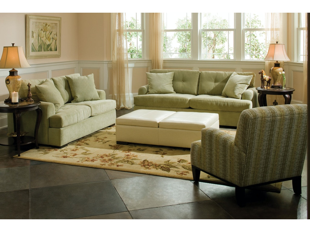 Jonathan Louis International Living Room Ottoman 37802