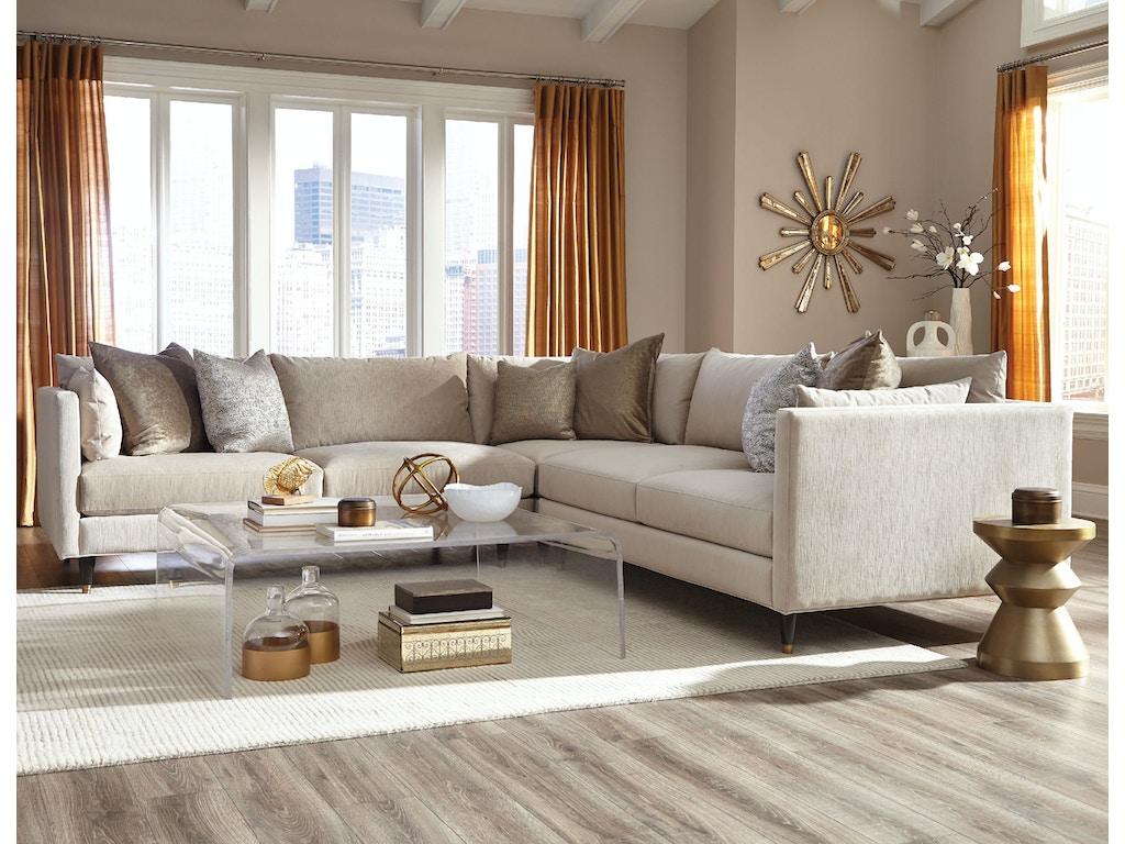 Jonathan Louis International Living Room Pia Sectional 389