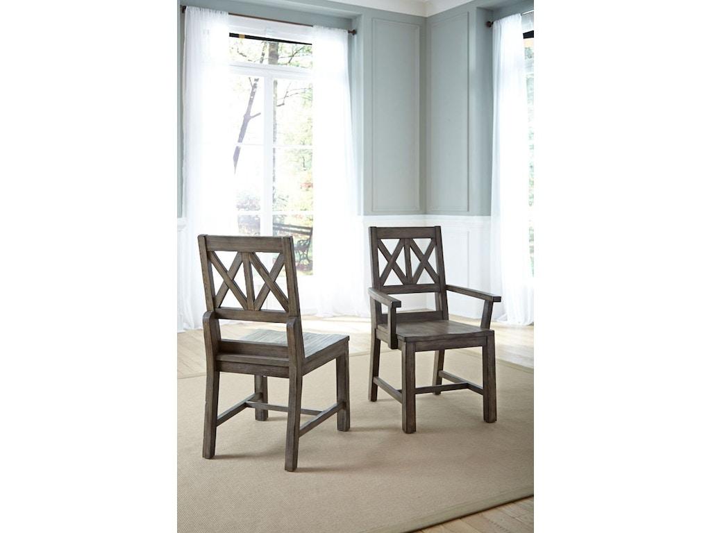 Kincaid Furniture Dining Room Wood Arm Chair 59 062