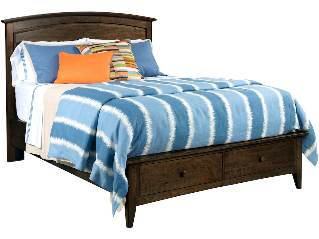 Kincaid furniture bedroom arch bed headboard 4 6 5 0 mo 44 for Q furniture and mattress beaumont tx