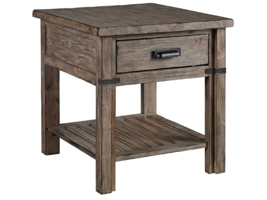 kincaid furniture living room drawer end table 59 022