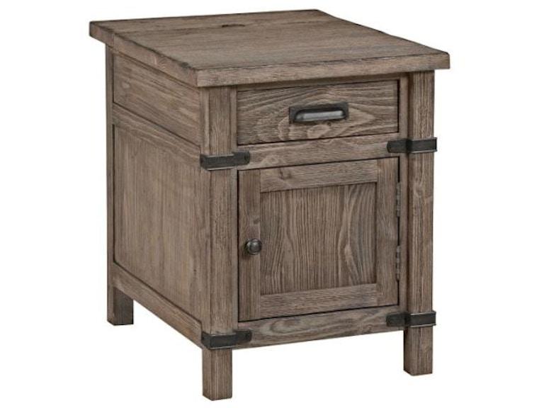 Kincaid Furniture Living Room Chairside Table 59-026 - Flemington ...