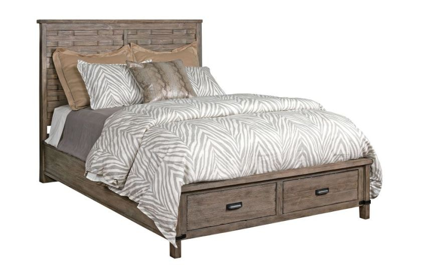 Kincaid Furniture Bedroom Panel King Bed Complete W Storage