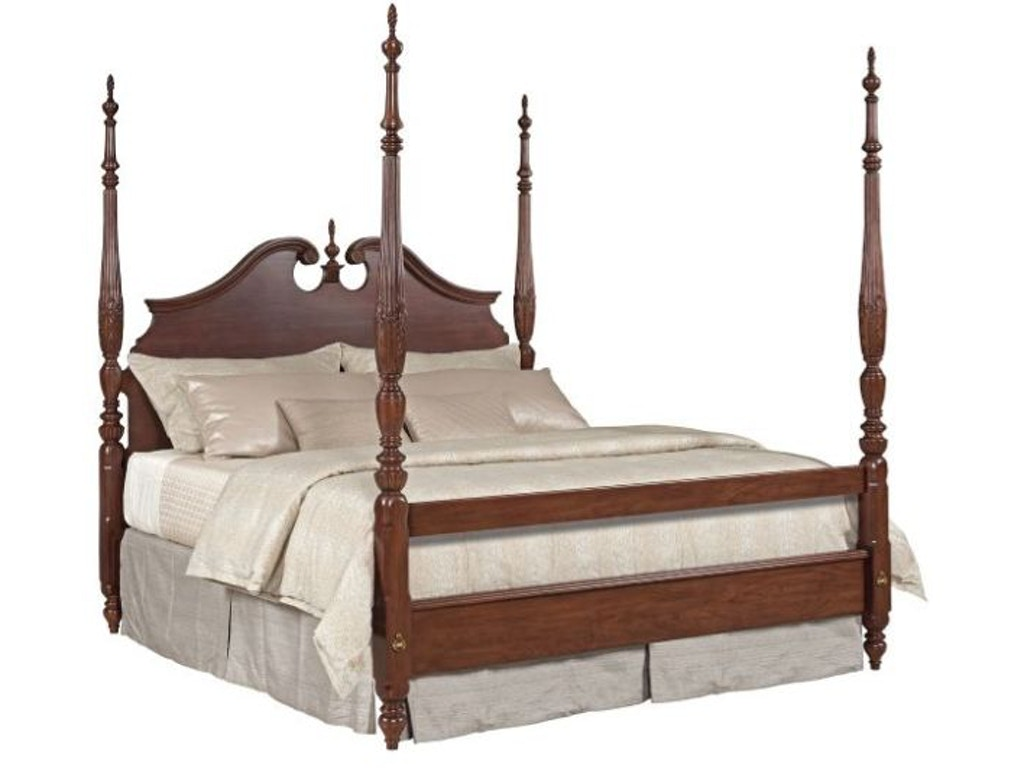 Kincaid Furniture Bedroom Rice Carved Bed 6/0-6/6 Package 607-326P at  Flemington Department Store