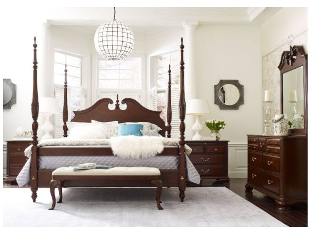 Kincaid furniture bedroom rice carved bed 5 0 package 607 - Kincaid bedroom furniture for sale ...