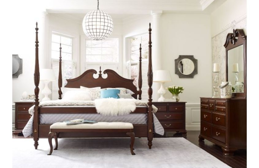 Charmant Kincaid Furniture Rice Carved Bed 5/0 Package KI607324P From Walter E. Smithe  Furniture