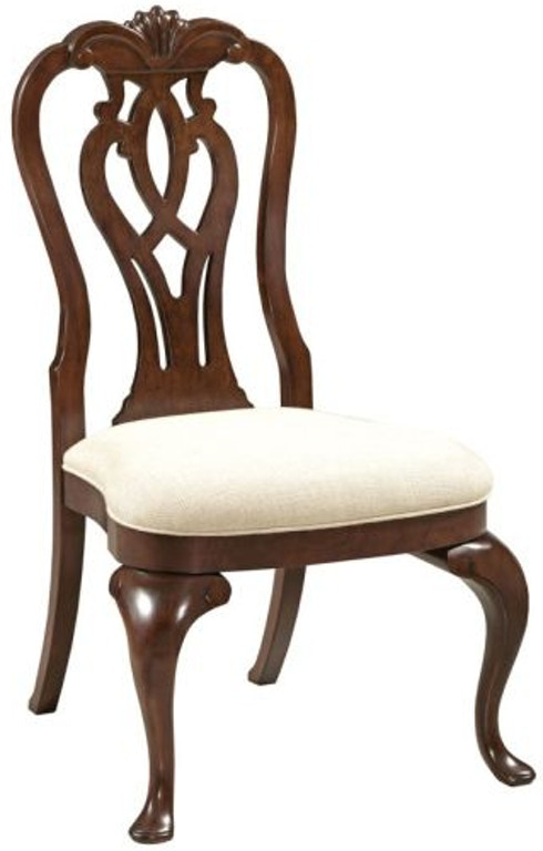 Kincaid Furniture Dining Room Queen Anne Side Chair 607