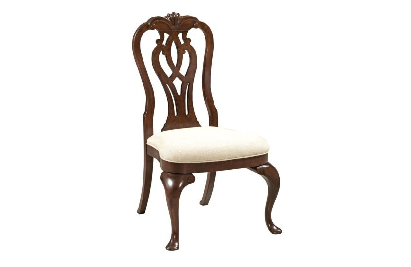 Kincaid Furniture Queen Anne Side Chair KI607636 From Walter E. Smithe  Furniture + Design