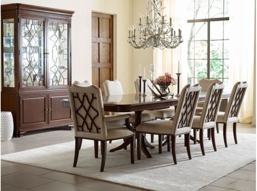 Kincaid Furniture Dining Room Double Pedestal Dining Table