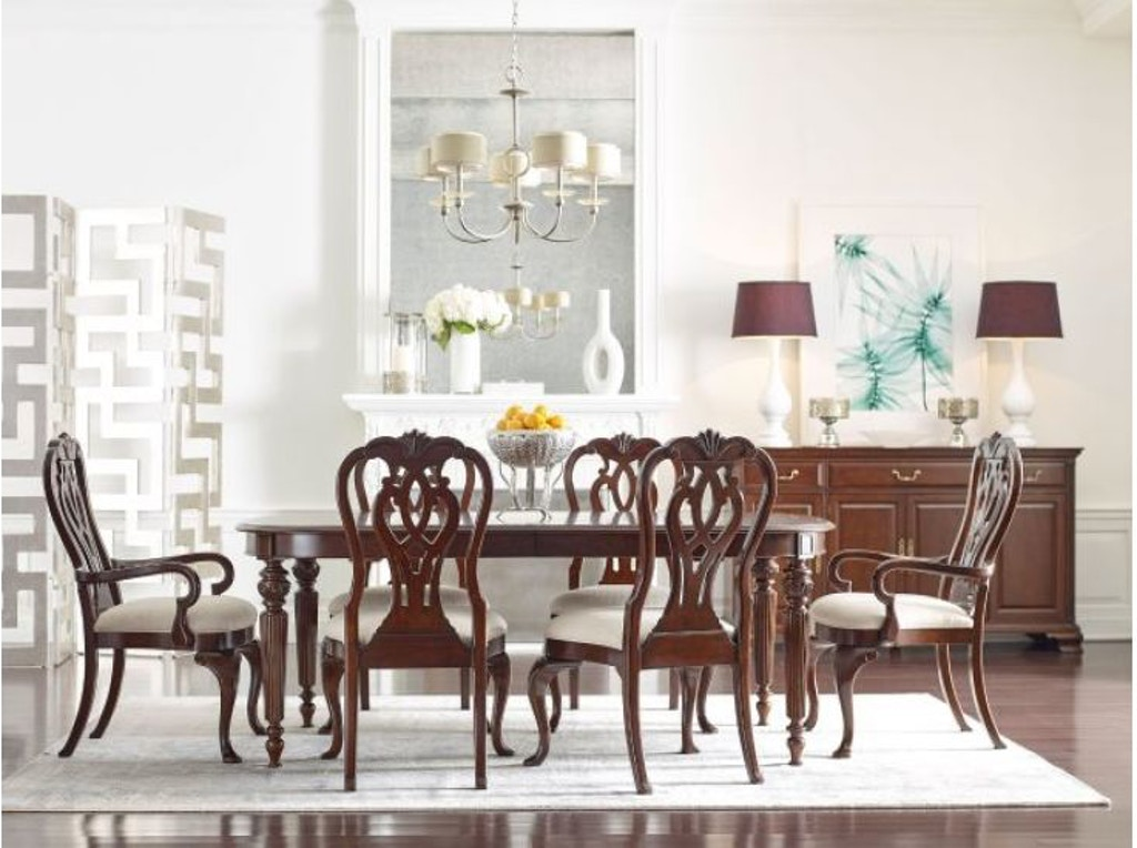 Marvelous Kincaid Furniture Dining Room Oval Dining Table W 2 20 Leaves 607 760 Walter E Smithe Furniture Design Cjindustries Chair Design For Home Cjindustriesco