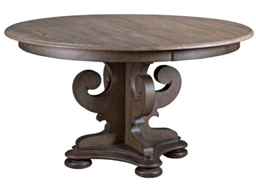 Kincaid Furniture Dining Room Grant Round Dining Table ...