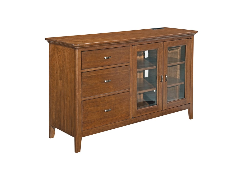 Kincaid furniture living room console 63 035v howell for Kincaid furniture