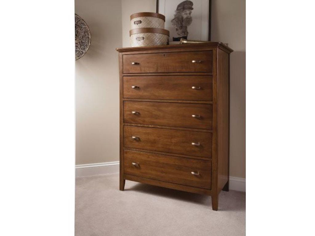 Kincaid furniture bedroom drawer chest 63 105v hickory for Kincaid furniture