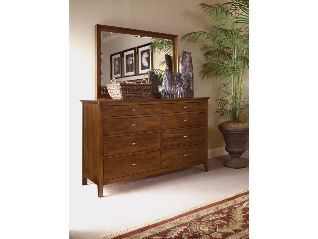Kincaid Furniture Bedroom Double Dresser 63 162v Carol
