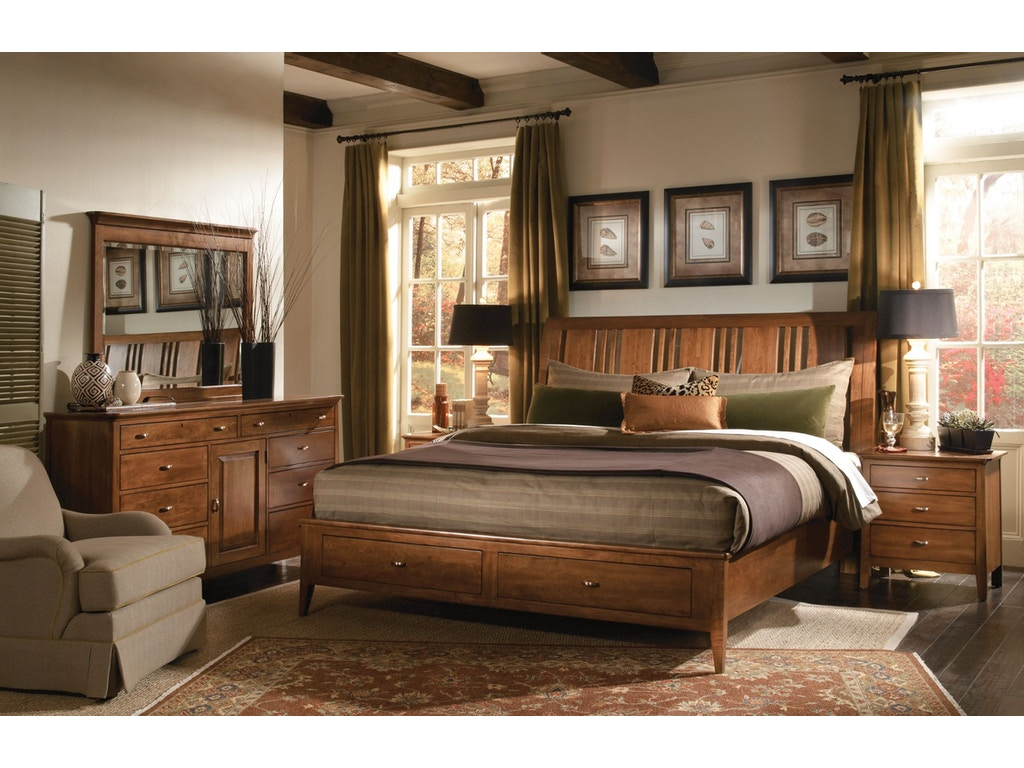 Kincaid Furniture Bedroom 6 6 Sleigh Bed 63 152pv Carol House Furniture Maryland Heights And