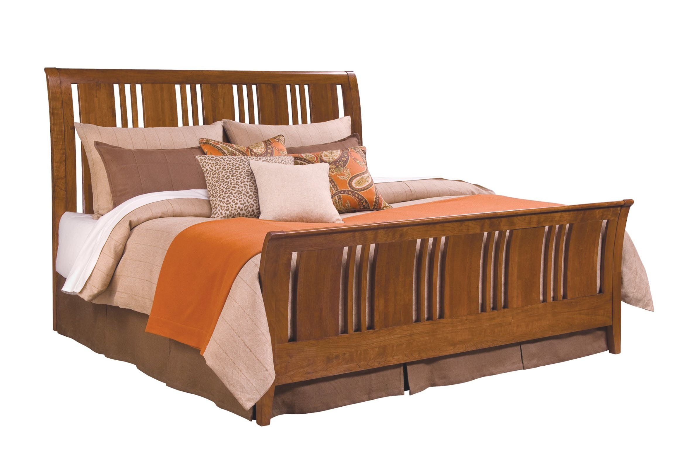 Kincaid Furniture Bedroom Sleigh King Bed Complete 63 152pv
